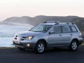 Autoesittely Mitsubishi Outlander 2003-2006