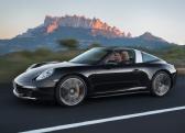 Autoesittely Porsche 911 Targa 2014