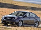 Autoesittely Subaru Legacy 2013