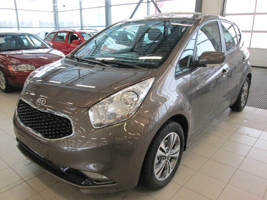 Kia Venga, Immediately deliverable car