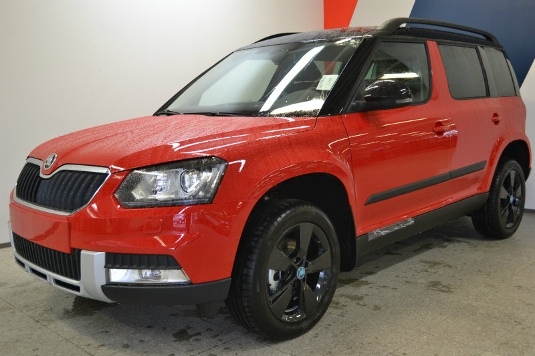 Skoda Yeti, Immediately deliverable car