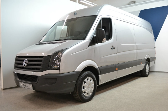 Volkswagen Crafter, Immediately deliverable car