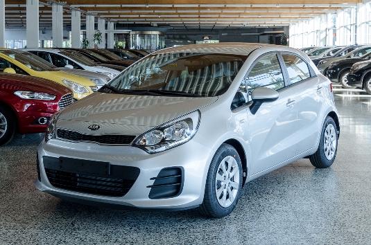 Kia Rio, Immediately deliverable car