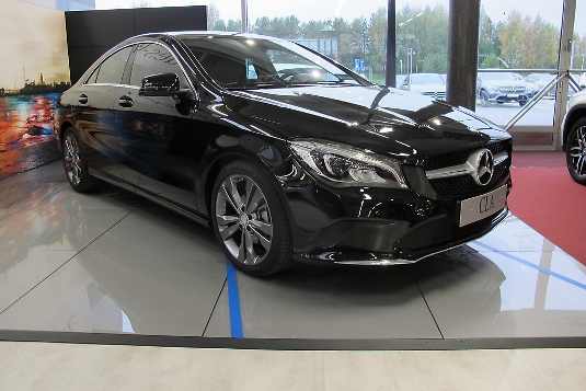 Mercedes-Benz CLA-sarja, Immediately deliverable car
