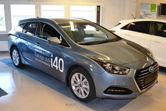 Hyundai i40, Immediately deliverable car