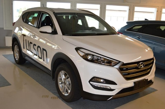 Hyundai Tucson, Immediately deliverable car