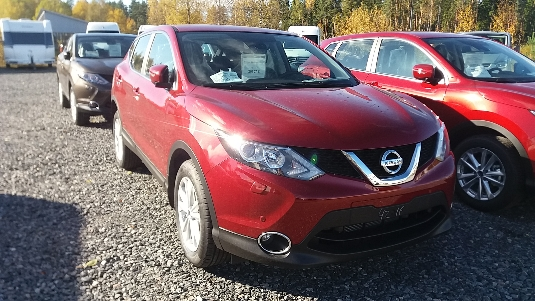 Nissan Qashqai, Immediately deliverable car