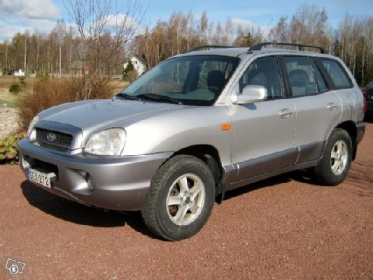 Hyundai Santa Fe, Vaihtoauto
