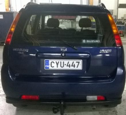 Suzuki Ignis, Vaihtoauto
