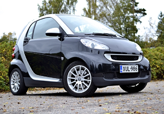Smart Fortwo, Vaihtoauto