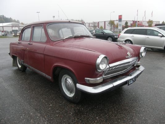 Volga M-21, Vaihtoauto