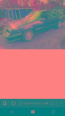 Chrysler GTS, Vaihtoauto