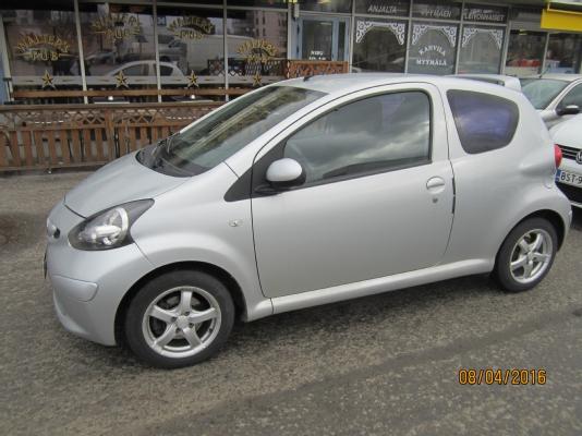 Toyota AYGO, Vaihtoauto