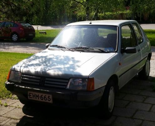 Peugeot 205, Vaihtoauto