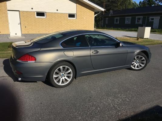 BMW 645, Vaihtoauto