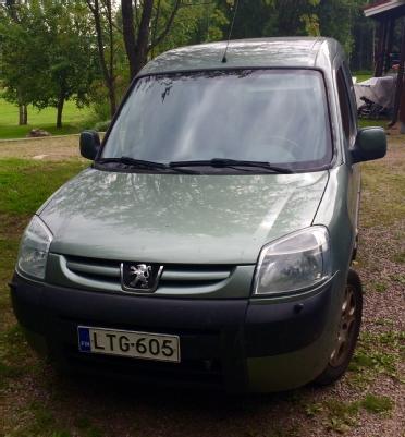 Peugeot Partner, Vaihtoauto