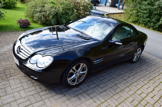 Mercedes-Benz SL, Vaihtoauto