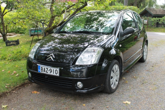 Citroën C2, Vaihtoauto