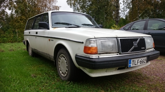Volvo 245, Vaihtoauto