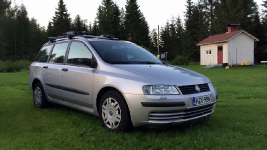 Fiat Stilo, Vaihtoauto