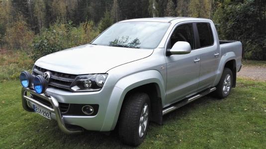 Volkswagen Amarok, Vaihtoauto