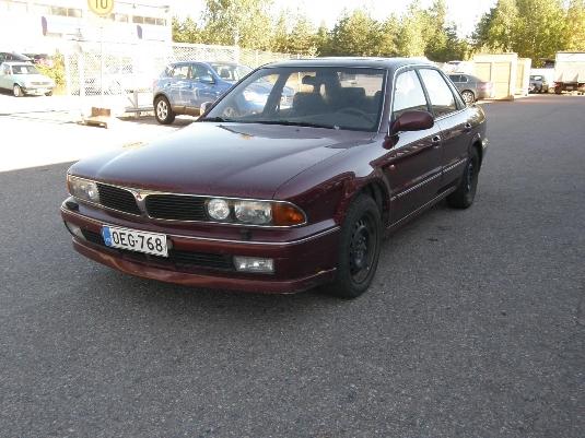 Mitsubishi Sigma, Vaihtoauto