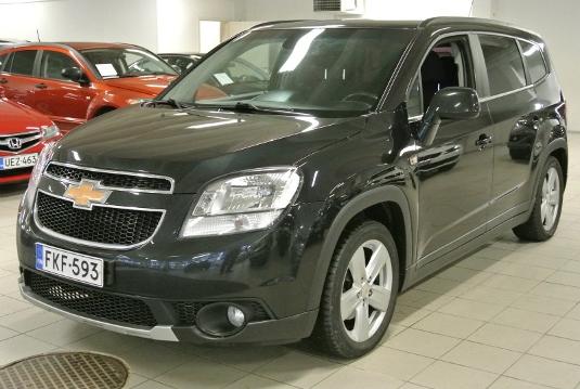 Chevrolet Orlando, Vaihtoauto
