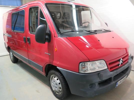Citroën Jumper, Vaihtoauto