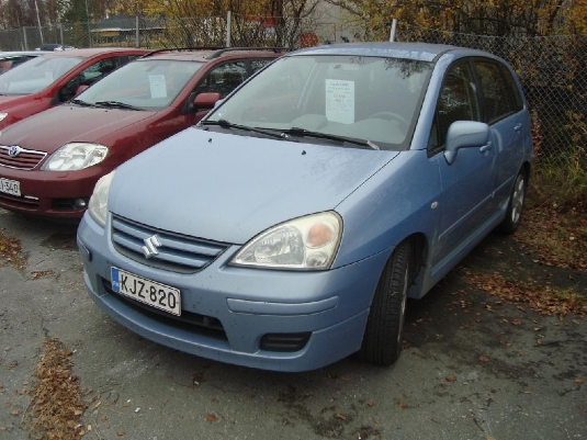 Suzuki Liana, Vaihtoauto