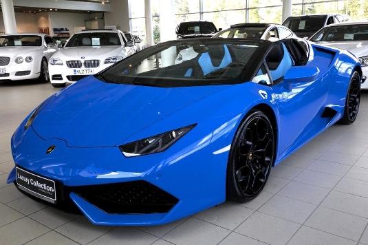 Lamborghini Huracán, Vaihtoauto