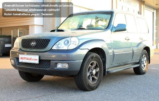 Hyundai Terracan, Vaihtoauto