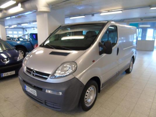 Opel Vivaro, Vaihtoauto