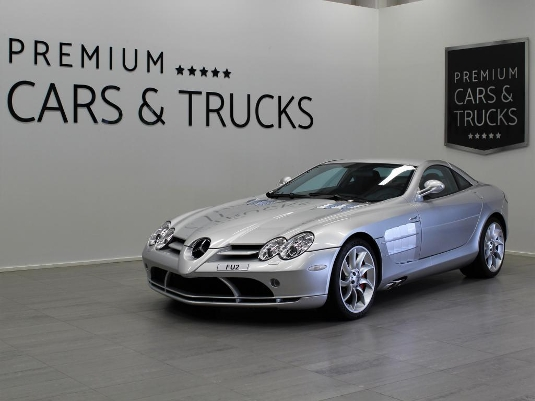 Mercedes-Benz Slr, Vaihtoauto
