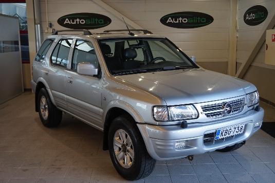 Opel Frontera, Vaihtoauto