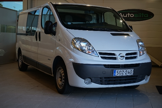 Nissan Primastar, Vaihtoauto