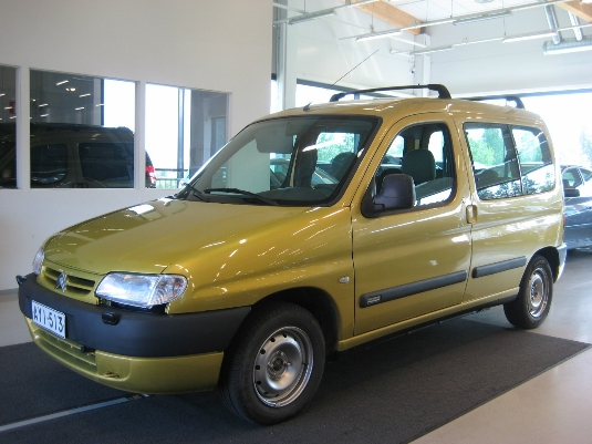 Citroën Berlingo, Vaihtoauto