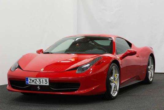 Ferrari 458, Vaihtoauto