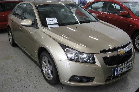 Chevrolet Cruze, Vaihtoauto