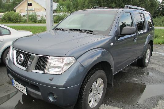 Nissan Pathfinder, Vaihtoauto