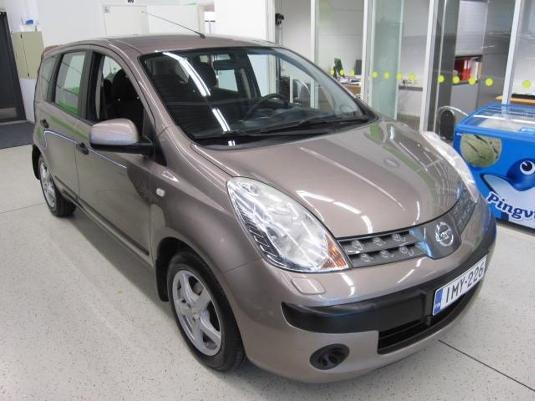 Nissan NOTE, Vaihtoauto