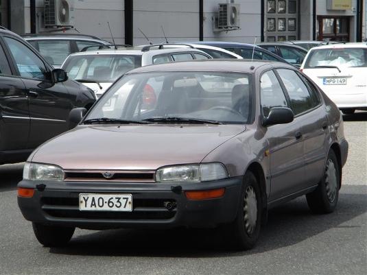 Toyota Corolla, Vaihtoauto