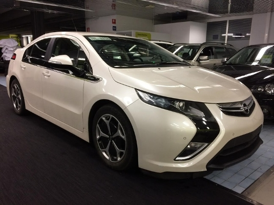 Opel Ampera, Vaihtoauto