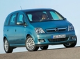 Autoesittely Opel Meriva 2003-2009