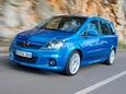 Autoesittely Opel Zafira