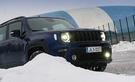 Koeajossa omalaatuinen lataushybridi Jeep Renegade 4xe – kyvykäs neliveto vie hankeen ja sieltä pois
