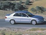 Autoesittely Mazda 626 (1997-2002)