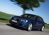 Autoesittely Audi A3 Sportback g-tron 2014