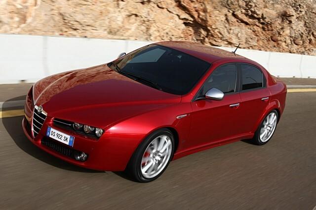 Autoesittely: Alfa Romeo 159