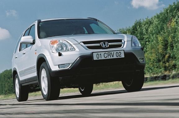 Autoesittely Honda CR-V 2001-2002