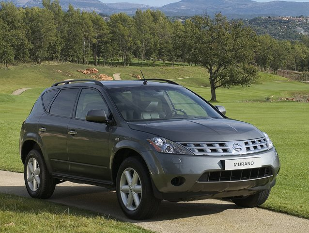 Autoesittely Nissan Murano 2007